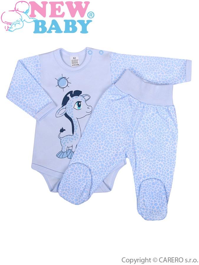 2-dielna súprava New Baby Giraffe modrá