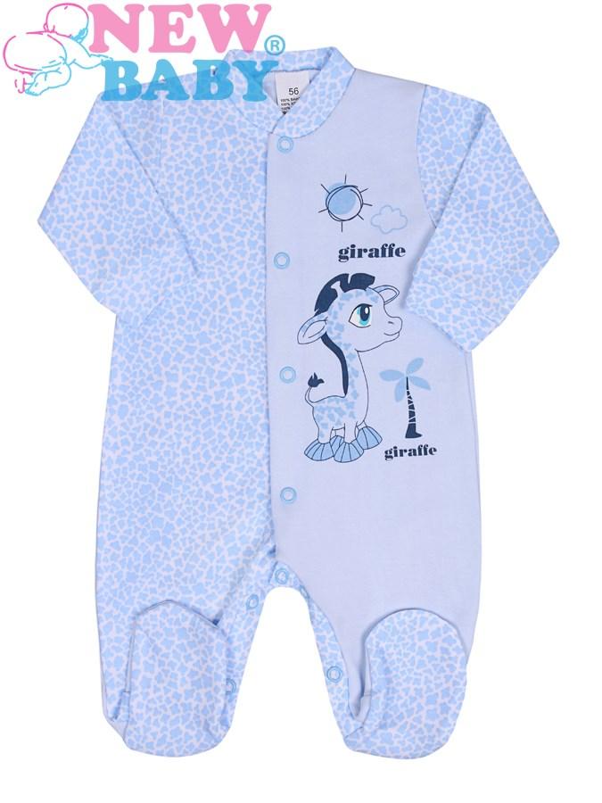 Dojčenský overal New Baby Giraffe modrý