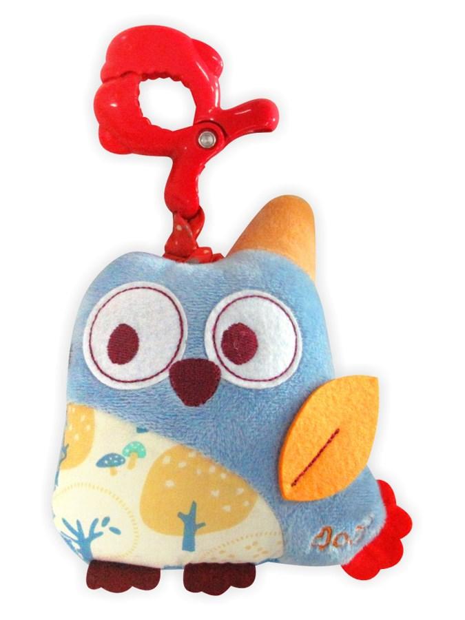 Detská plyšová hračka Baby Mix Sova