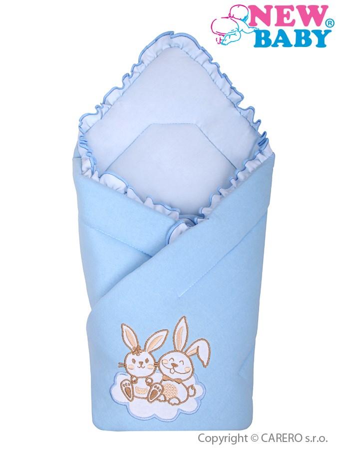 Zavinovačka New Baby Bunnies modrá