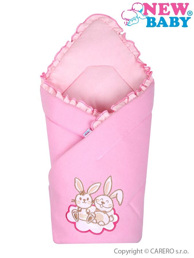 Zavinovačka New Baby Bunnies ružová