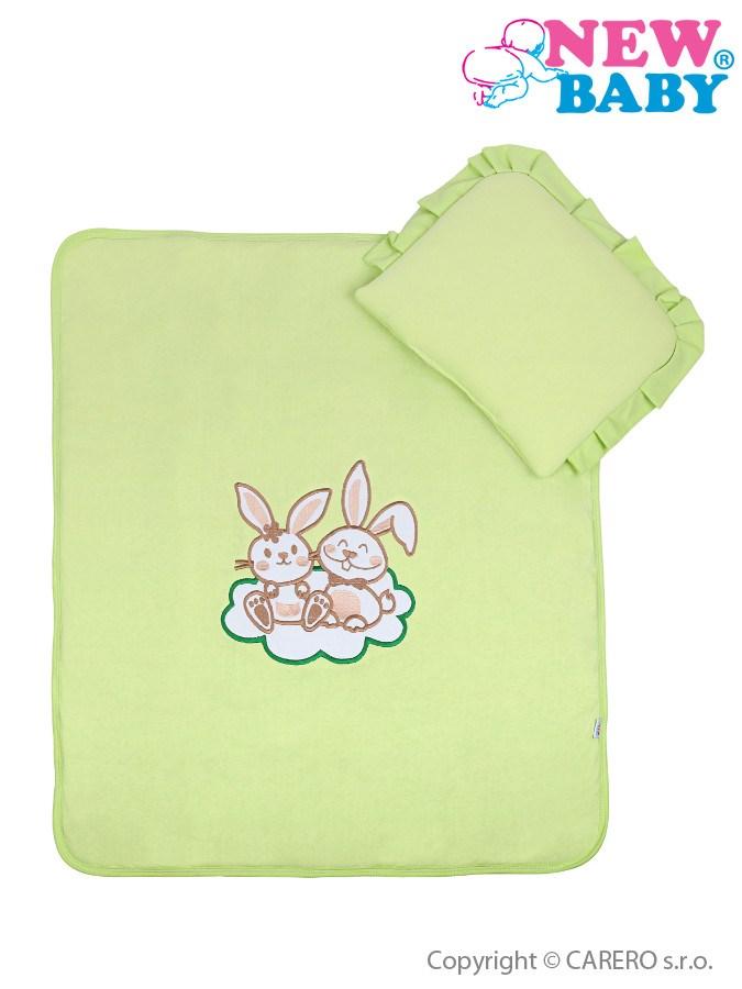 Set do kočíka New Baby Bunnies zelený