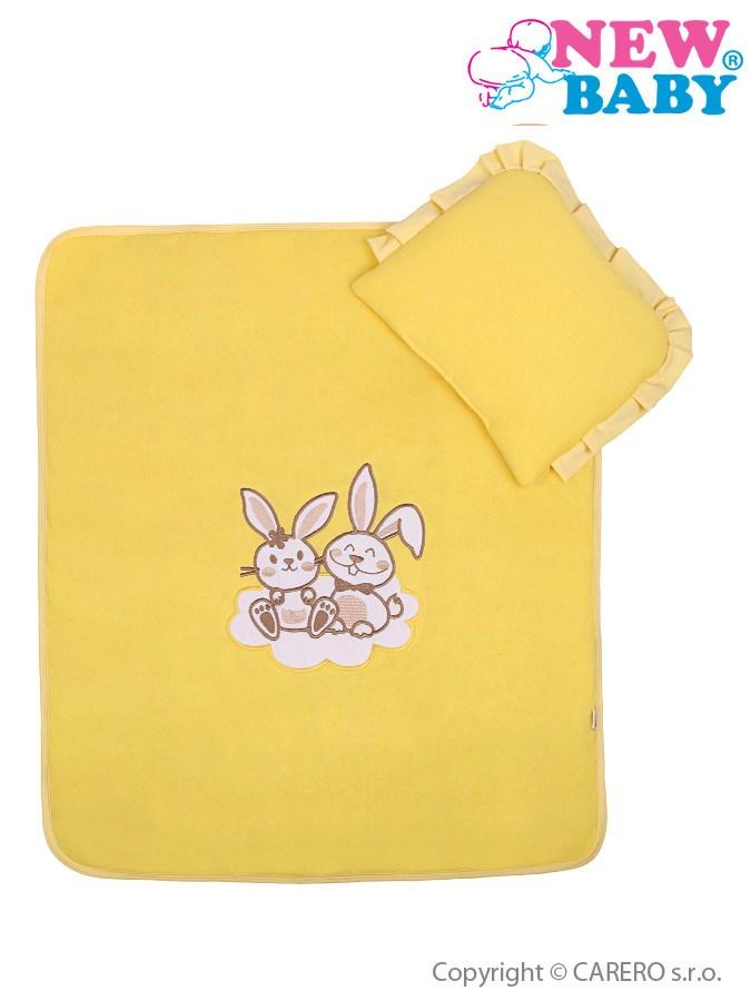 Set do kočíka New Baby Bunnies žltý