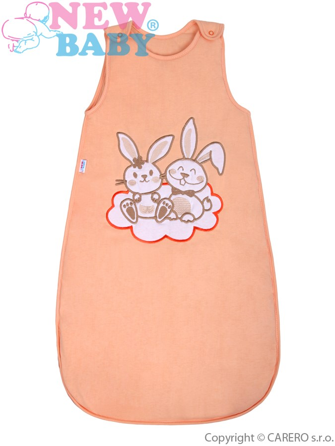 Spací vak New Baby Bunnies oranžový