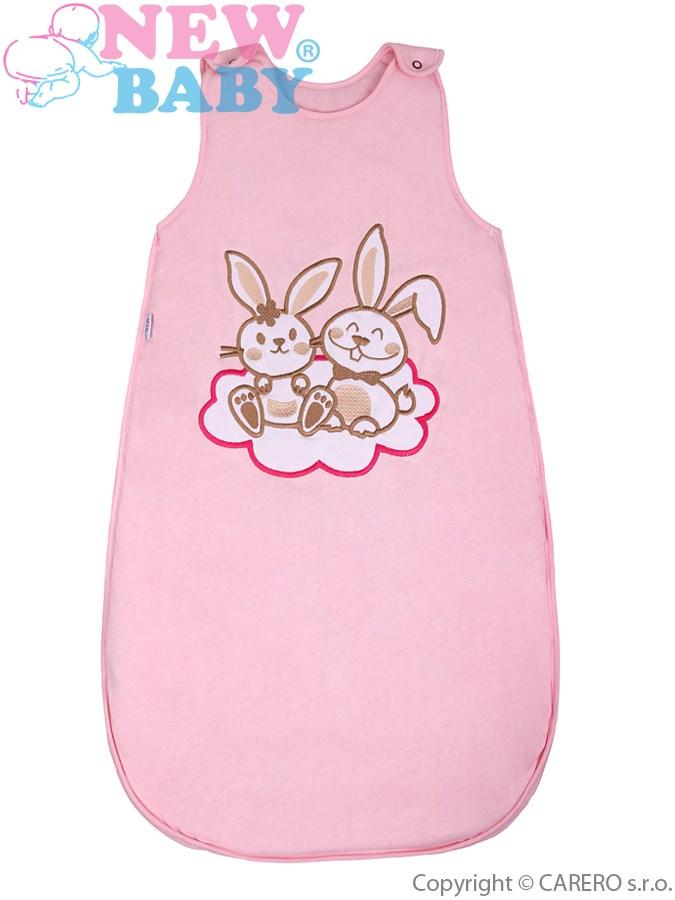 Spací vak New Baby Bunnies ružový