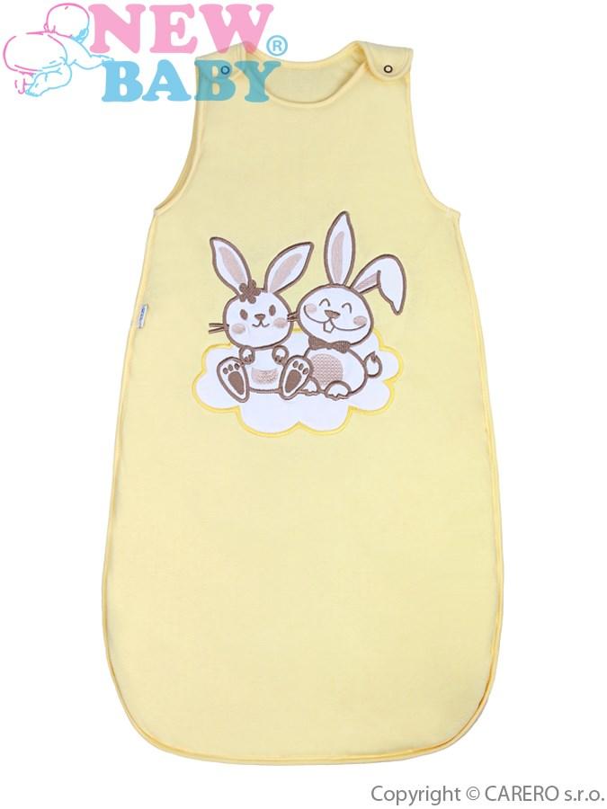 Spací vak New Baby Bunnies žltý