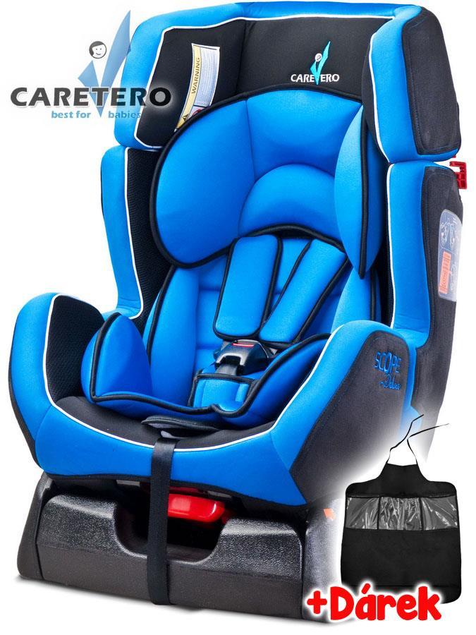 Autosedačka CARETERO Scope DELUXE blue 2016 + darček