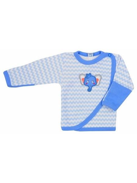 Dojčenská košieľka Bobas Fashion Dominik modrá