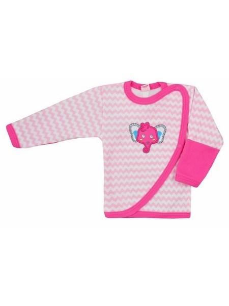 Dojčenská košieľka Bobas Fashion Dominik růžová