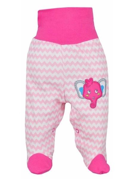 Dojčenské polodupačky Bobas Fashion Dominik ružové