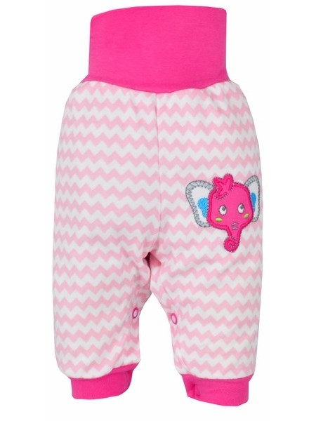 Dojčenské tepláčky Bobas Fashion Dominik ružové