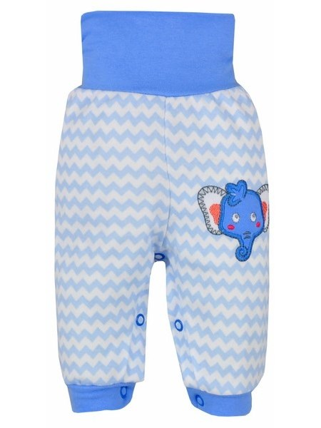Dojčenské tepláčky Bobas Fashion Dominik modré
