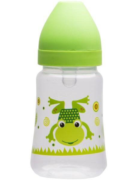Fľaša so širokým hrdlom Akuku 250 ml zelená