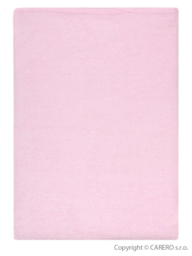 Nepremokavá podložka Akuku froté 70x50 - ružová