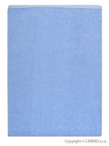 Nepremokavá podložka Akuku froté 70x50 - modrá