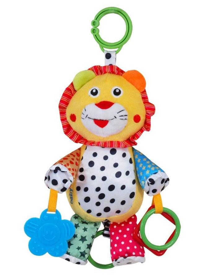 Plyšová hračka so zvukom Baby Mix Levíček