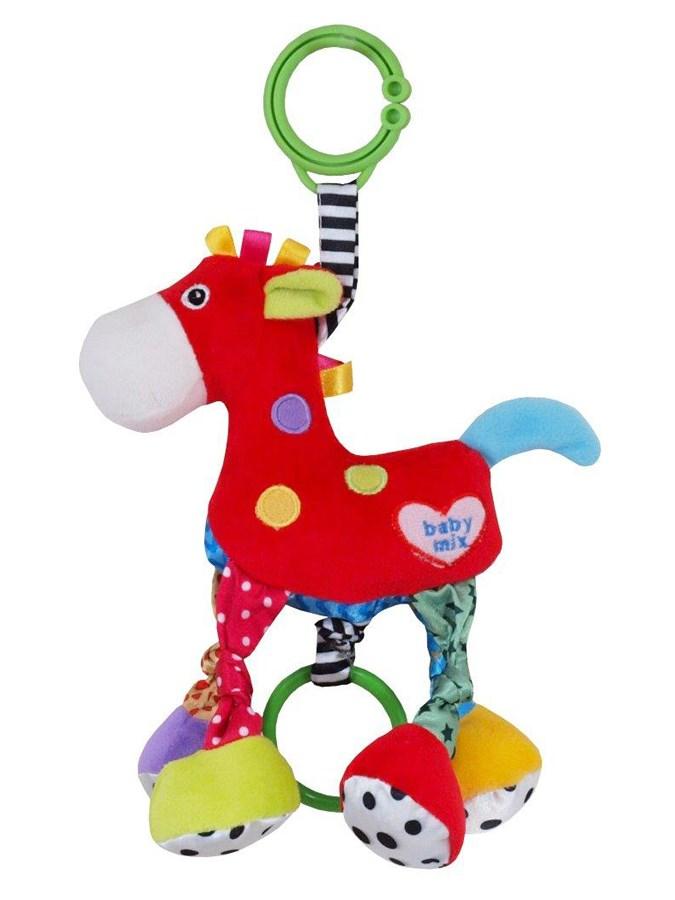 Plyšová hračka so zvukom Baby Mix Koníček