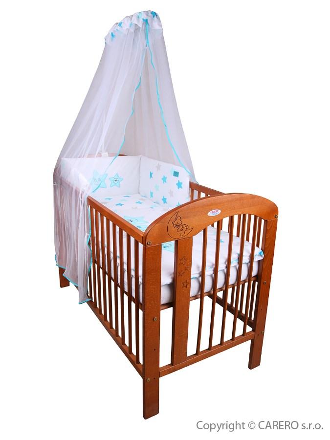 5-dielne posteľné obliečky Belisima Veselé Hviezdičky 90/120 modré