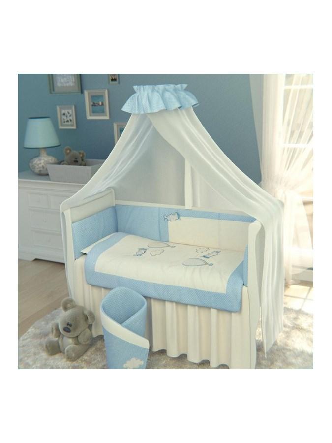 6-dielne posteľné obliečky Belisima Lietadla 90/120 modré