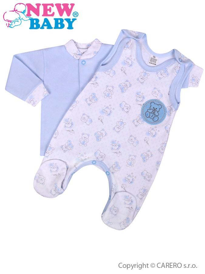 2-dielna dojčenská súprava New Baby Roztomilý Medvedík modrá