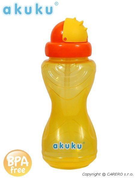 Športová fľaša so slamkou Akuku