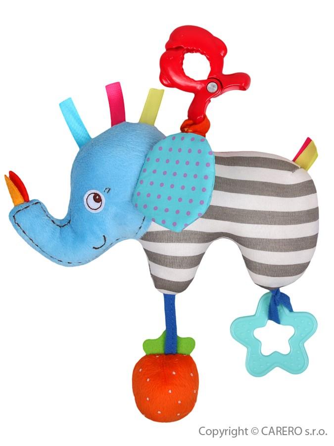 Detská plyšová hračka Baby Mix Sloníča