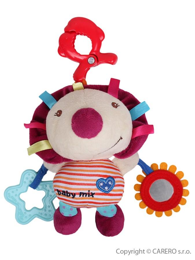 Detská plyšová hračka s hracím strojčekom Baby Mix Ježko