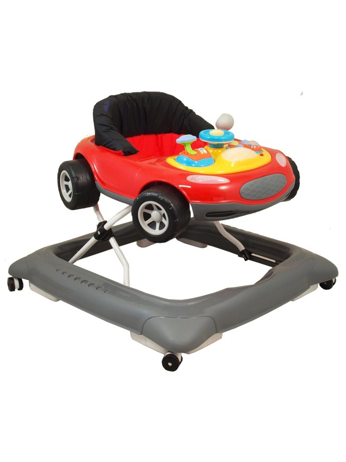 Detské chodítko Baby Mix autíčko červené