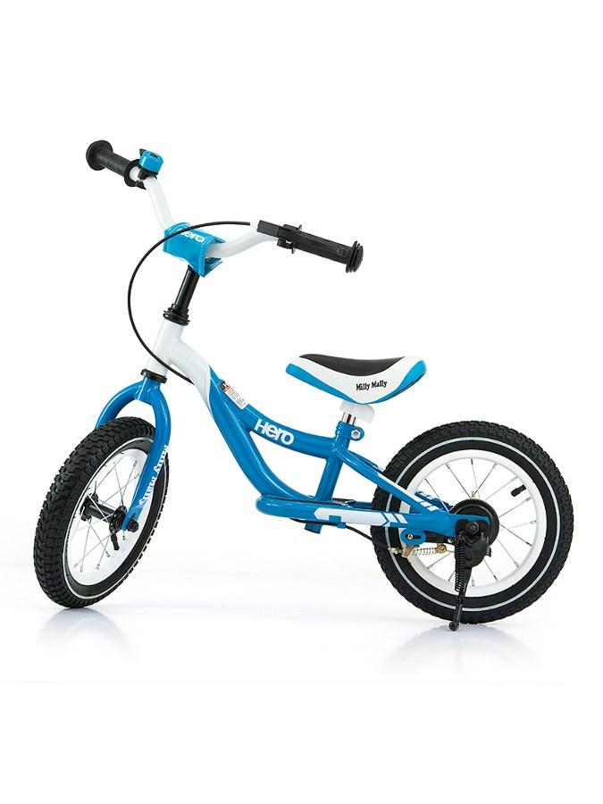 Detské odrážadlo bicykel Milly Mally Hero turquoise
