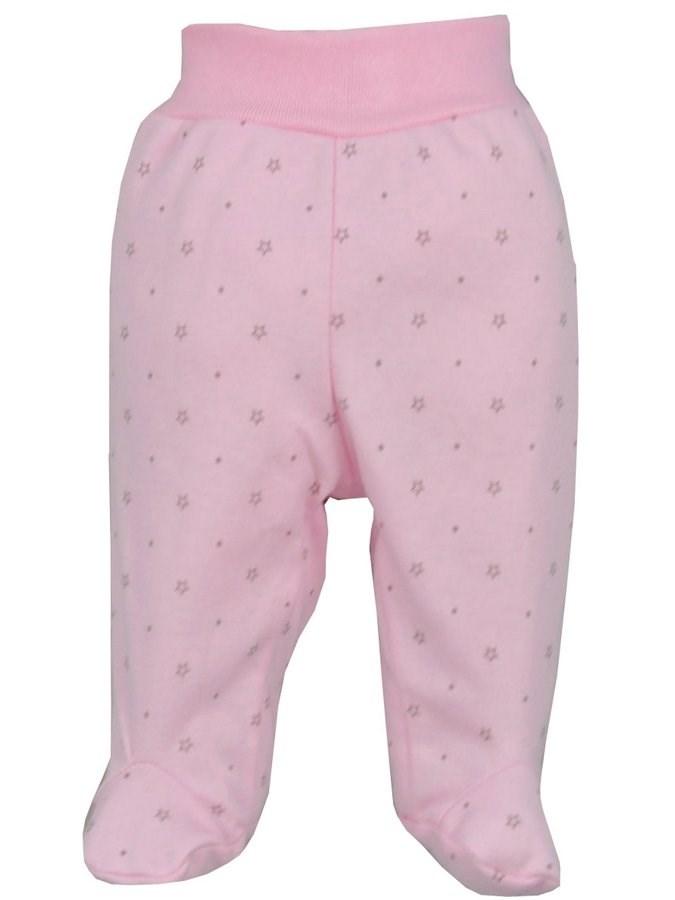 Dojčenské polodupačky Koala Magnetky ružové s hviezdičkami