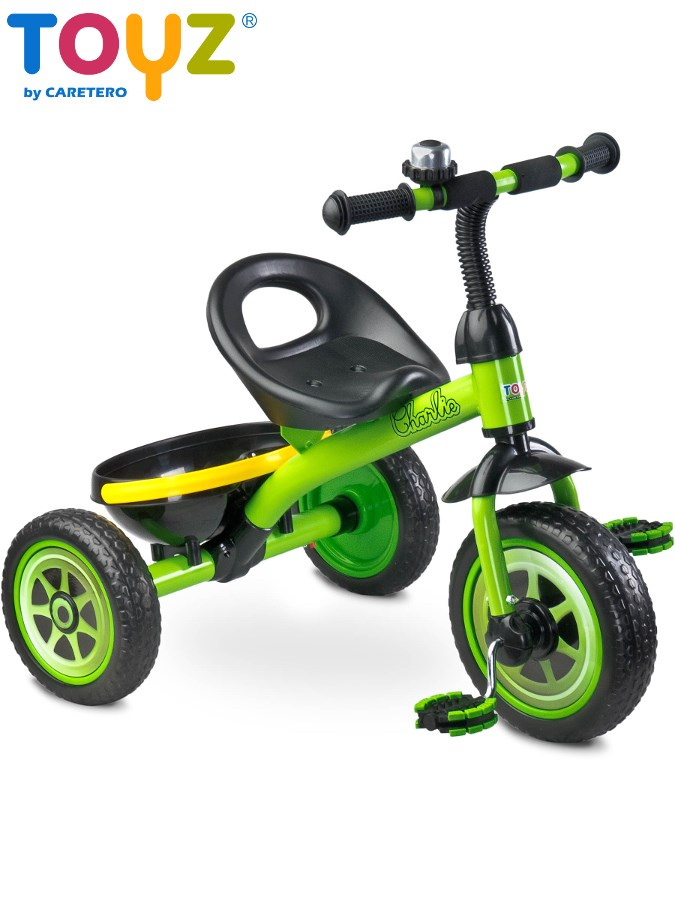 Detská trojkolka Toyz Charlie green