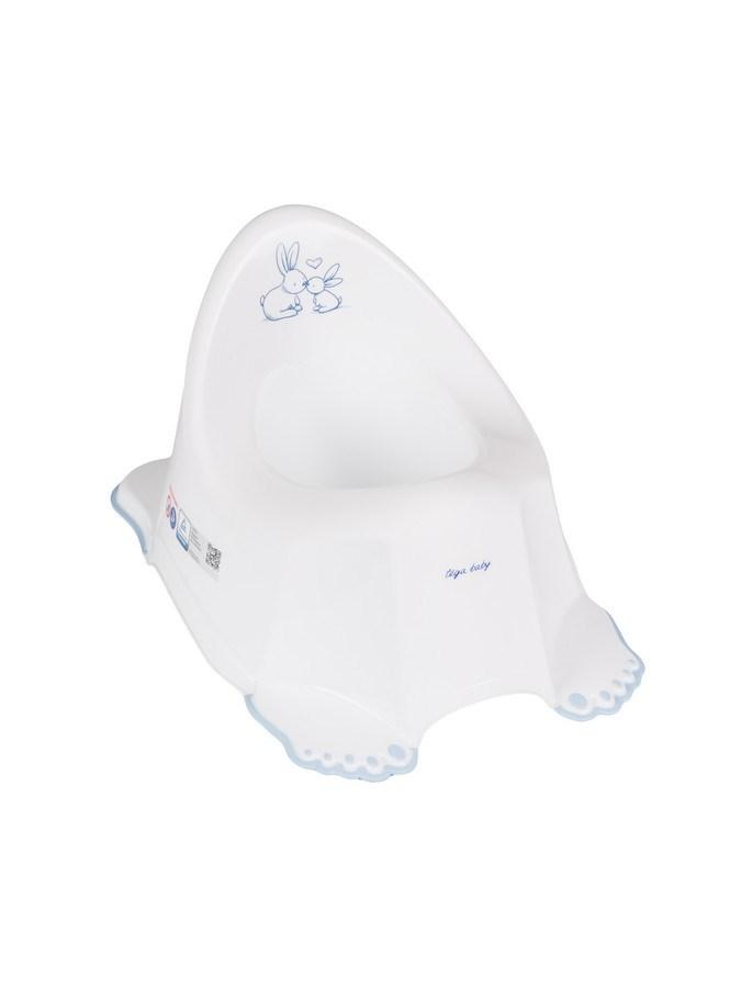 Detský nočník protišmykový Bunny biely