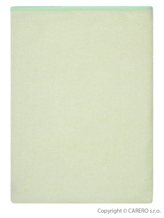 Nepremokavá podložka Akuku froté 110x60 zelená