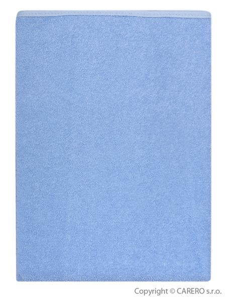 Nepremokavá podložka Akuku froté 110x60 modrá