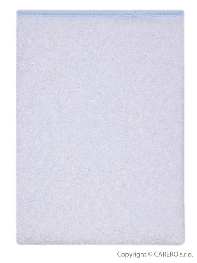 Nepremokavá podložka Akuku froté 70x50 - svetlo modrá