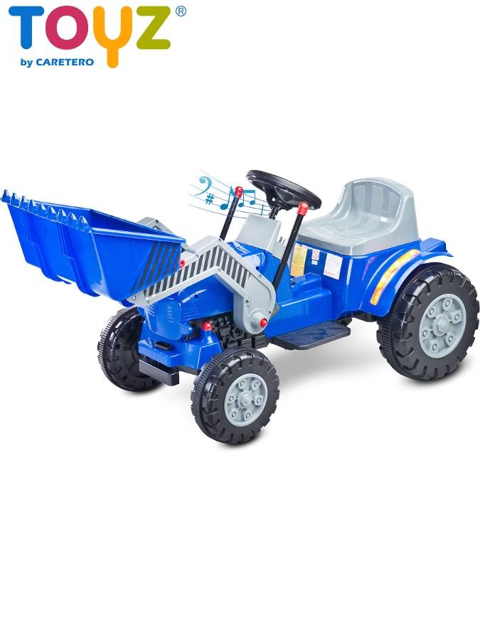 Elektrický bager Toyz Bulldozer modrý
