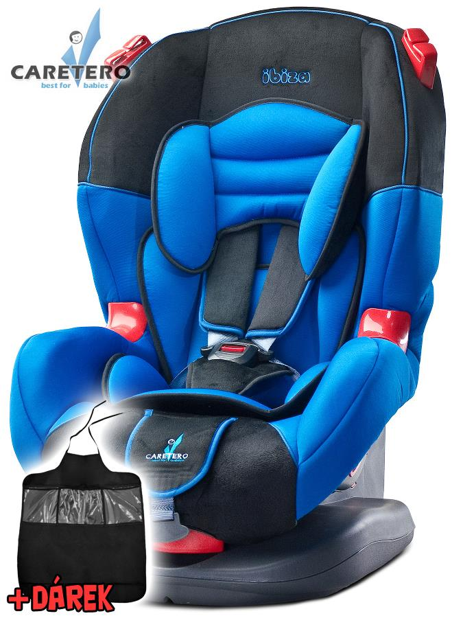 Autosedačka CARETERO IBIZA New blue 2016 + darček
