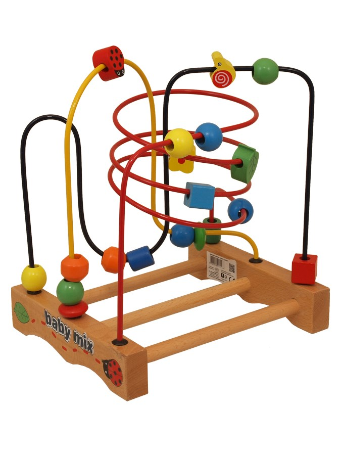 Drevená edukačná hračka Baby Mix Labyrint