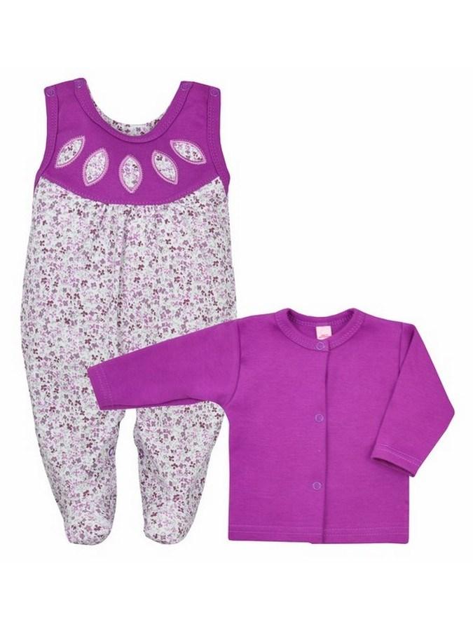 2-dielna súprava Bobas Fashion Kvetinka fialová