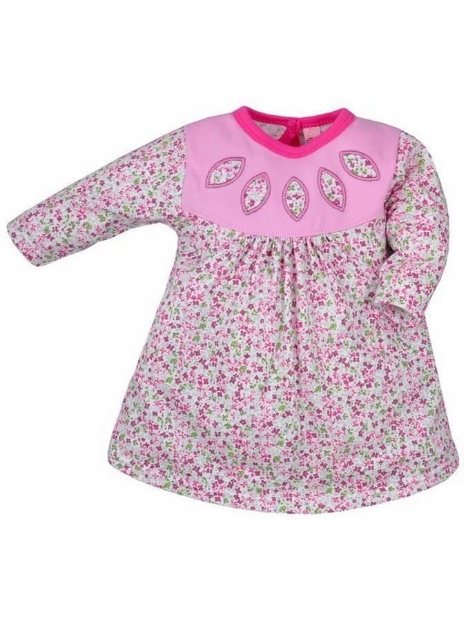 Detské šatôčky Bobas Fashion Kvetinka ružové