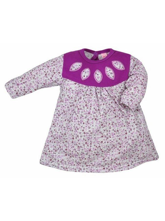 Detské šatôčky Bobas Fashion Kvetinka fialové