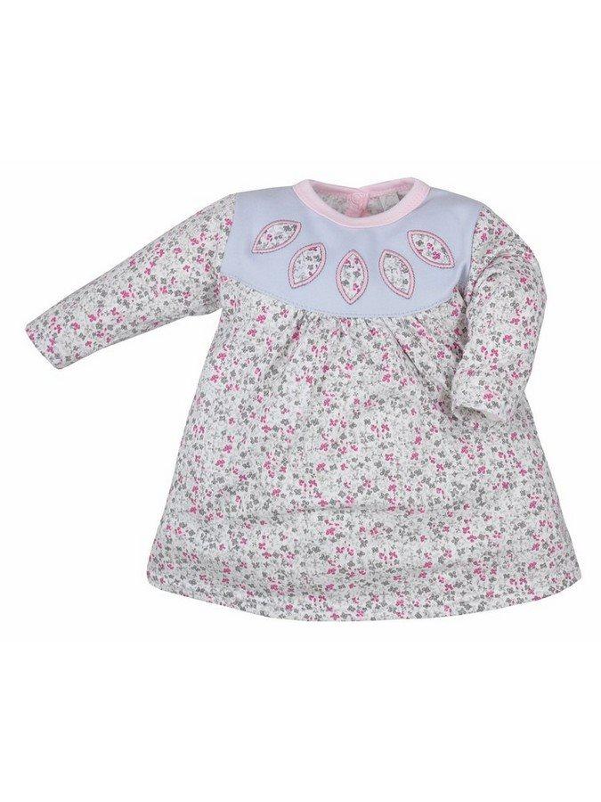 Detské šatôčky Bobas Fashion Kvetinka sivé