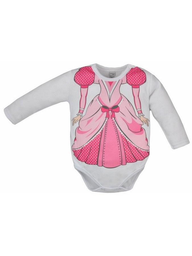 Dojčenské body Bobas Fashion Hrdina s princeznou