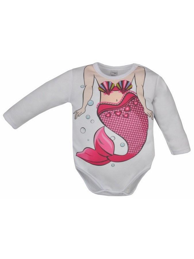 Dojčenské body Bobas Fashion Hrdina s morskou vílou