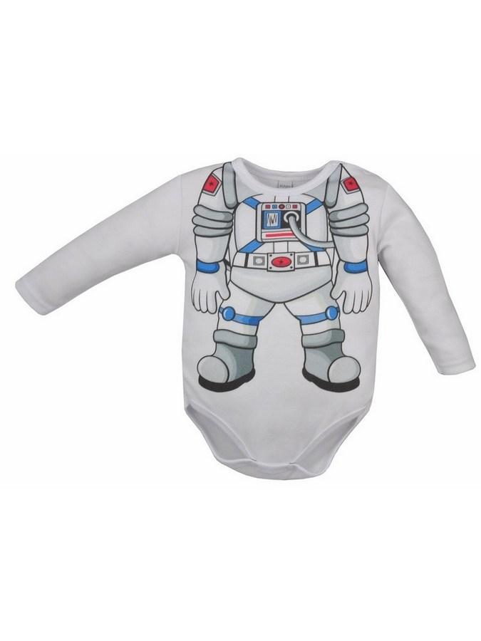 Dojčenské body Bobas Fashion Hrdina s kozmonautom