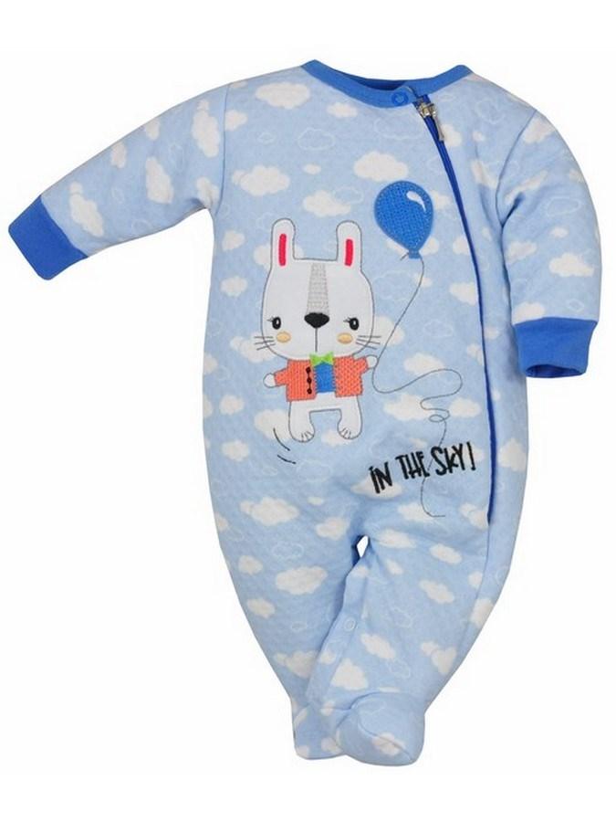 Dojčenský overal Koala Duffy modrý
