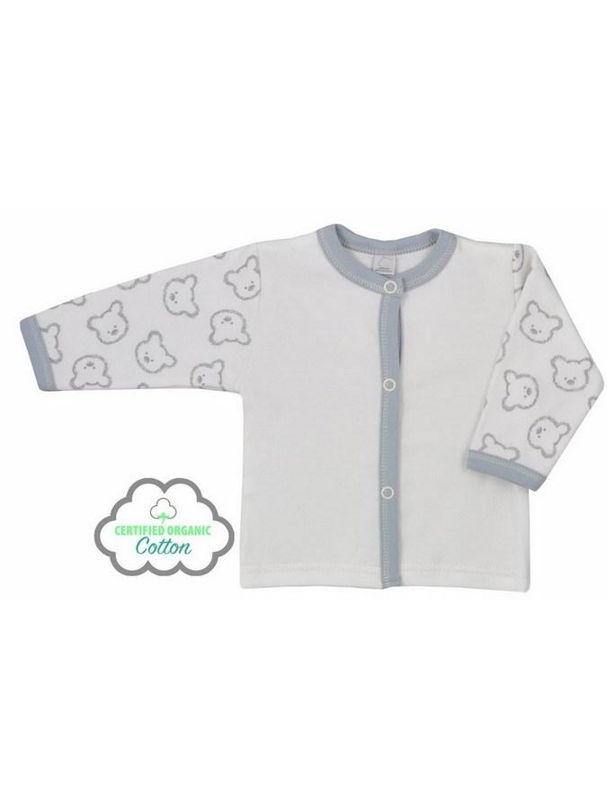 Dojčenský BIO kabátik Koala Malí Mackovia bežový