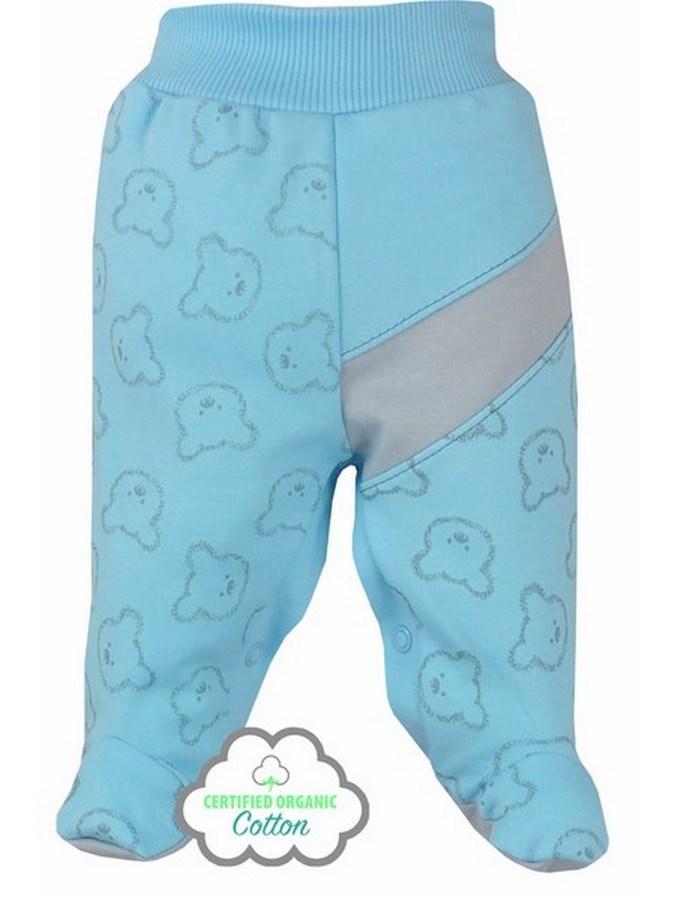 Dojčenské BIO polodupačky Koala Malí Mackovia modré