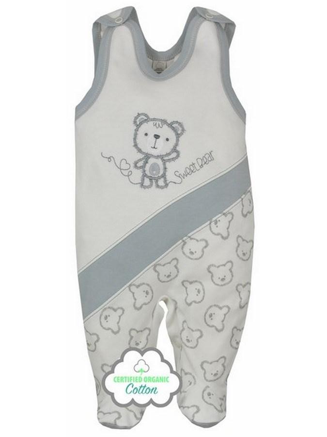 Dojčenské BIO dupačky Koala Malí Mackovia bežové