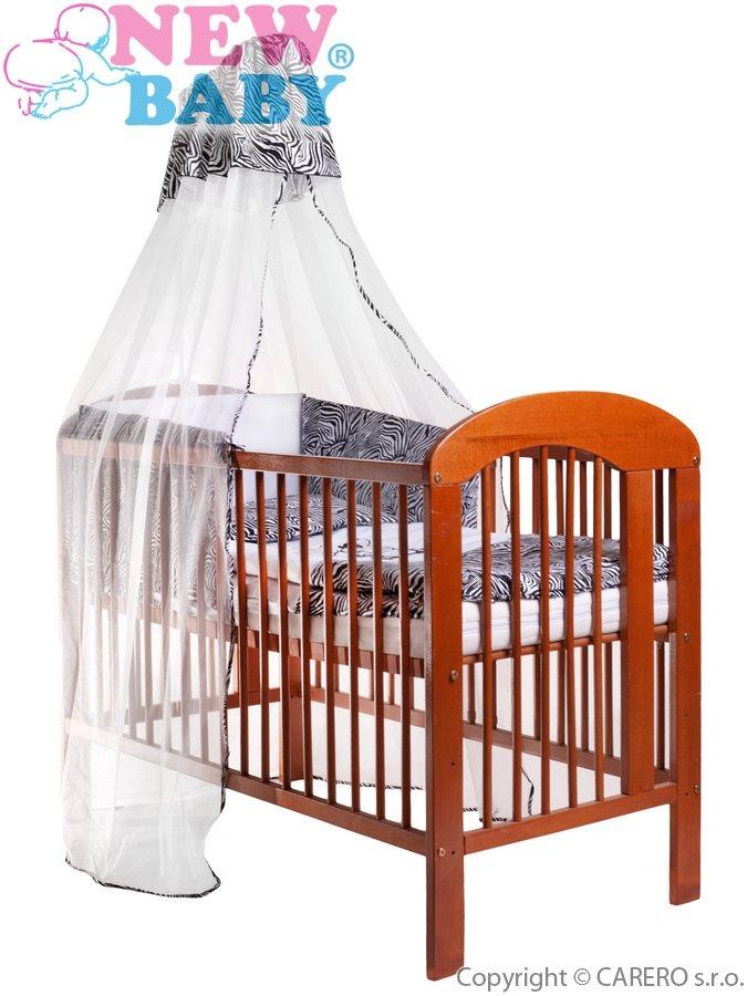 6-dielne posteľné obliečky New Baby Zebra 90/120 bielo-čierne